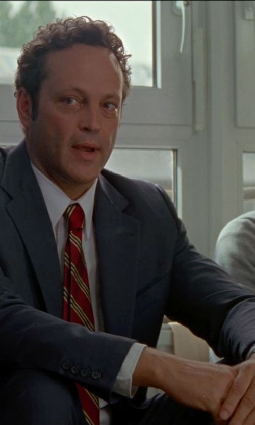 Vince Vaughn with Triton White Tungsten Florentine Finish Ring in Unfinished Business