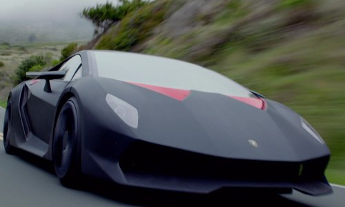Dominic Cooper with Lamborghini Sesto Elemento Coupe in Need for Speed