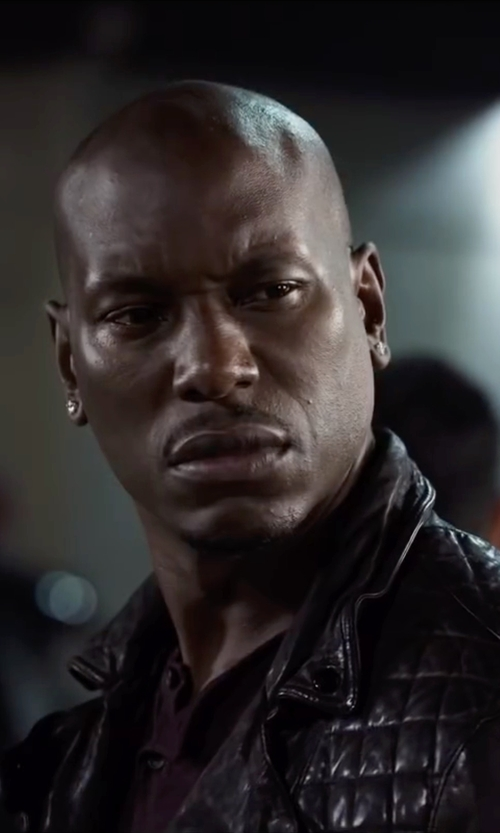 Tyrese Gibson with Diamond Wish Men's Stud Earrings in Ride Along 2