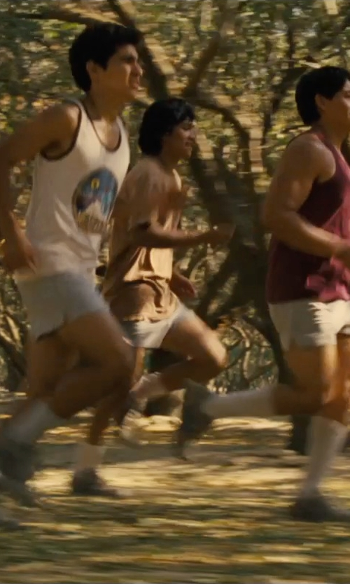 Johnny Ortiz with Asics Men's Interval Split Shorts in McFarland, USA