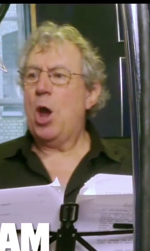 Terry Jones with Montblanc Black Eyeglasses in Absolutely Anything