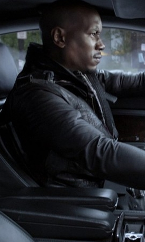 Tyrese Gibson with Woolrich John Rich Field Jacket in The Fate of the Furious