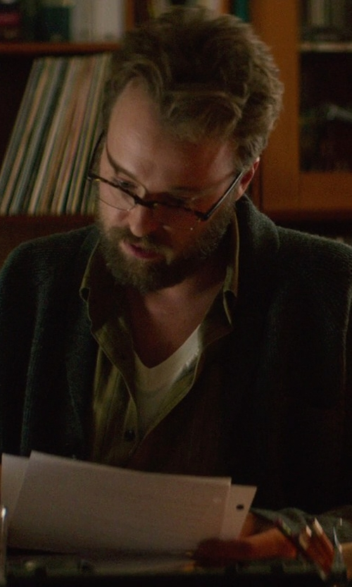 Joshua Leonard with Pendleton Wayne Corduroy Shirt in If I Stay