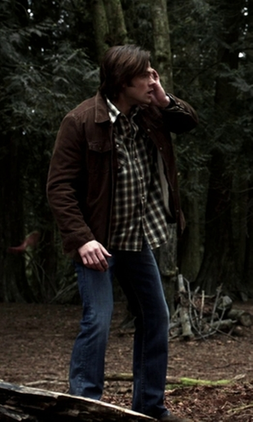 Jared Padalecki with Prana Men's Gomez Long Sleeve Corduroy Shirt in Supernatural