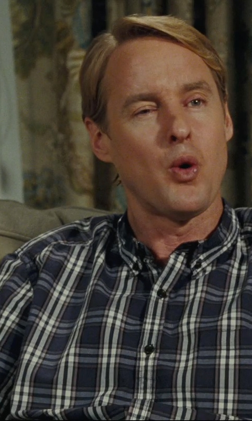 Owen Wilson with Payton Upholstered Sofa in Hall Pass