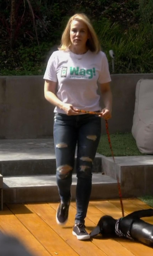 Chelsea Handler with Zazzle WAG T-Shirt in Chelsea