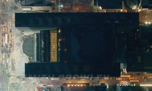 Unknown Actor with New York Marriott Marquis New York City, New York in John Wick