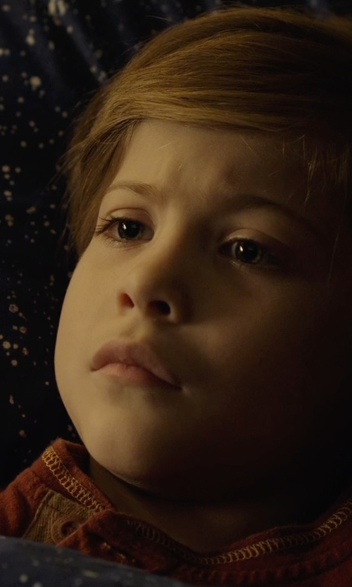 Jacob Tremblay with Sovereign Code Dazed Long Sleeve Henley in Before I Wake