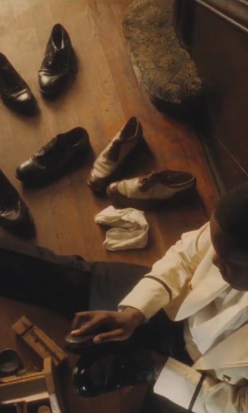 No Actor with River Island Black Leather Pointed Shoes in Lee Daniels' The Butler