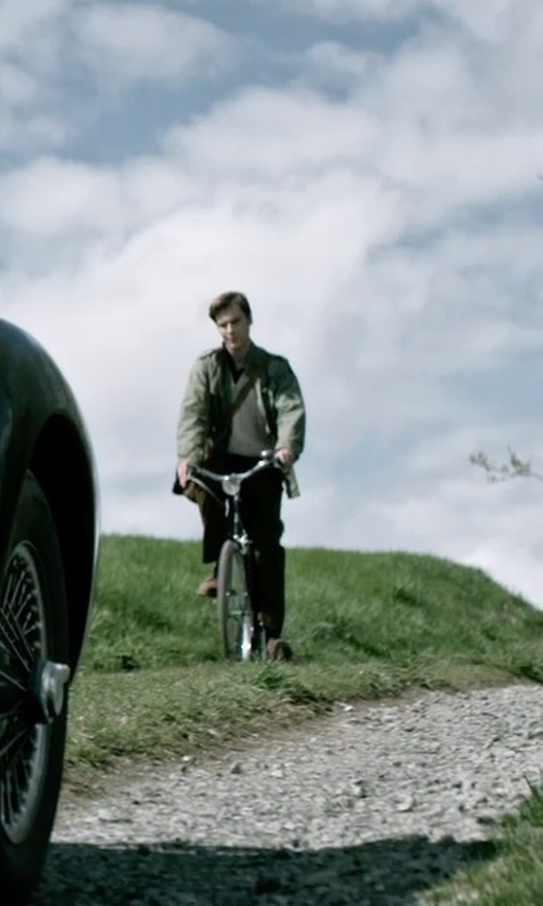 Anthony Ingruber with Centre Commercial Commodore Suede Shoes in The Age of Adaline