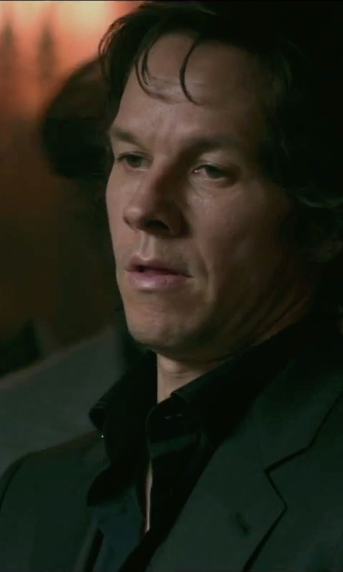 Mark Wahlberg with Lanvin Two Button Blazer in The Gambler