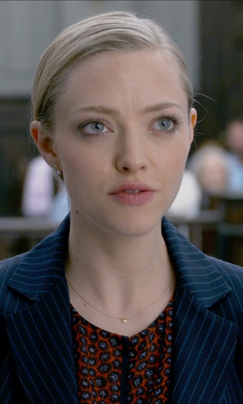 Amanda Seyfried with Acne Studios Striped Blazer in Ted 2