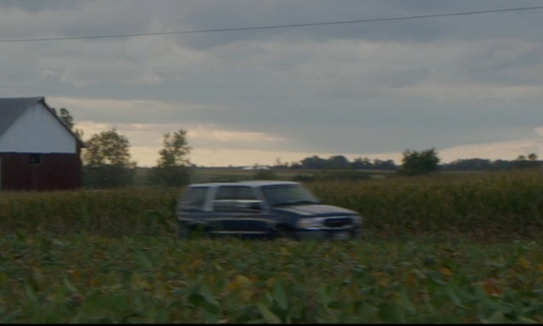 James Ransone with Dodge Durango SUV in Sinister 2