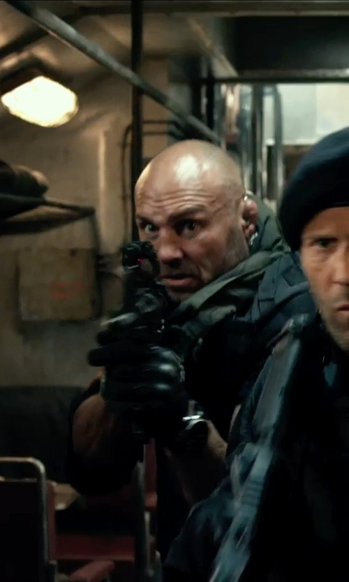 Randy Couture with Point Blank Gresham Tactical Vest in The Expendables 3