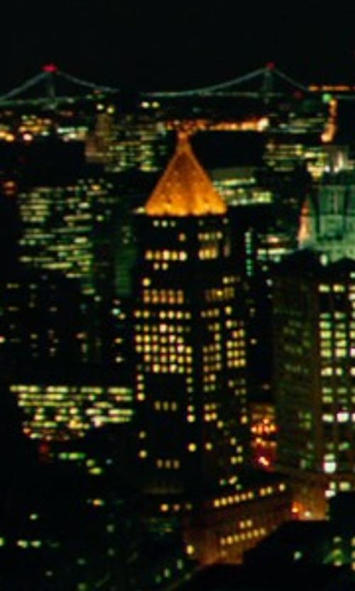Unknown Actor with New York Life Building New York City, New York in John Wick