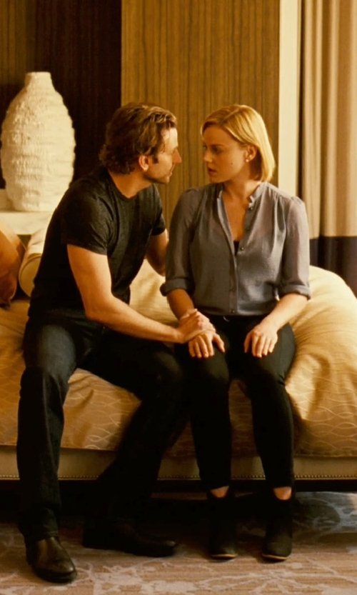 Abbie Cornish with Isabel Marant Ankle Boots in Limitless