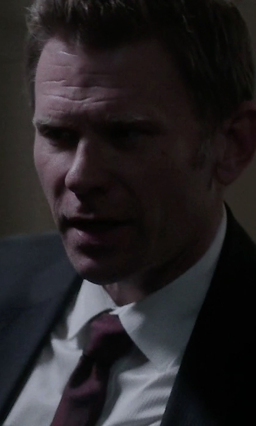 Mark Pellegrino with Michael Kors Woven Silk Tie in Quantico
