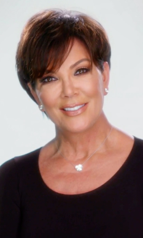 Kris Jenner with Majestic Paris Long-Sleeve Crewneck Pullover in Keeping Up With The Kardashians