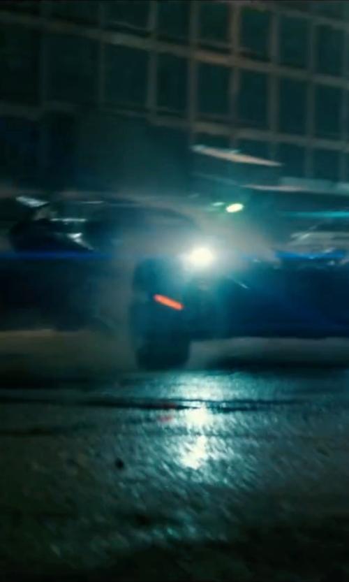 Ben Affleck with Mattel Dawn of Justice Speed Strike Batmobile Vehicle in Batman v Superman: Dawn of Justice