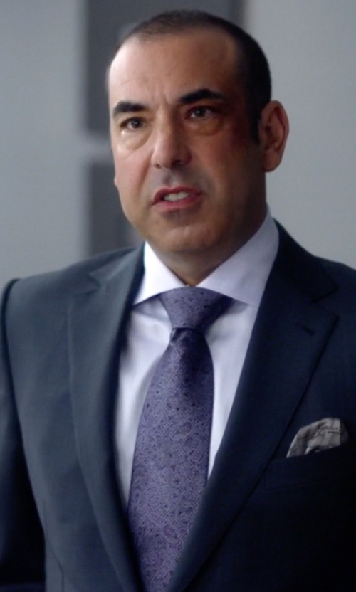 Rick Hoffman with John W. Nordstrom Traditional Fit Solid Dress Shirt in Suits