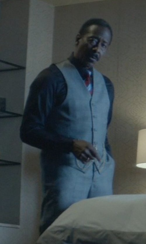Clarke Peters with Ermenegildo Zegna Three Piece Suit in John Wick