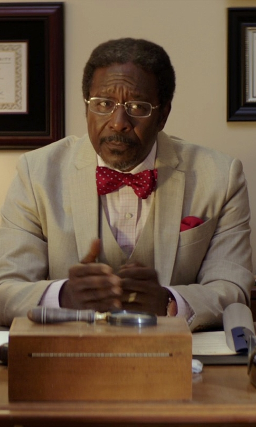 Clarke Peters with Bulgari BVLGARI Eyeglasses in The Best of Me