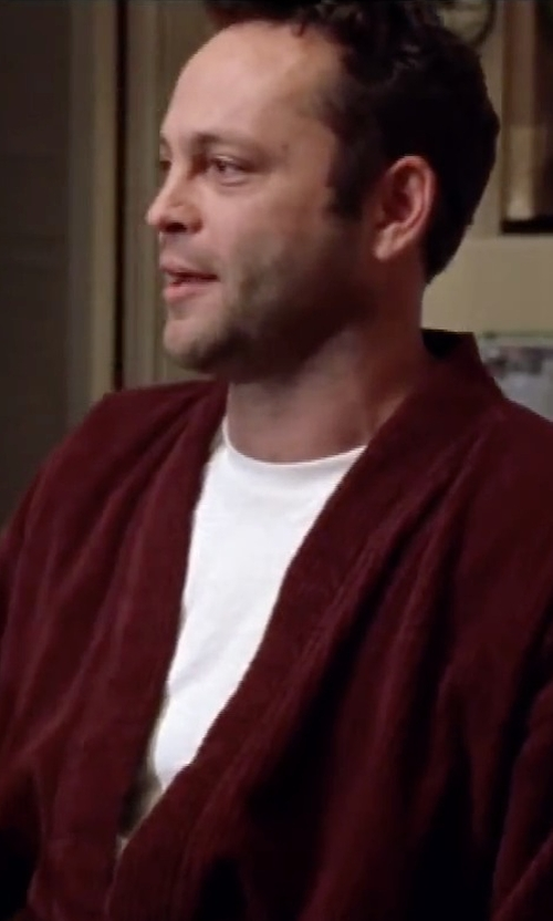 Vince Vaughn with Calvin Klein Men's Slim-Fit Crew-Neck T-Shirt in Mr. & Mrs. Smith