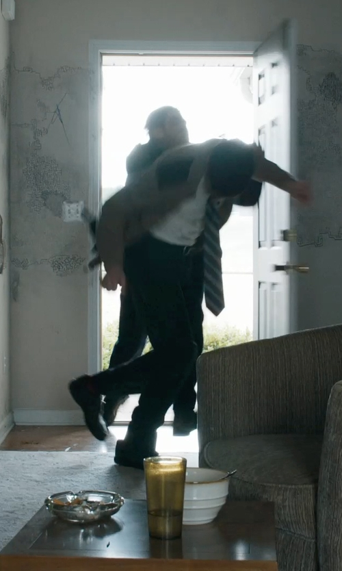 David Dastmalchian with Calvin Klein Brent Lace-Up Oxfords in Prisoners