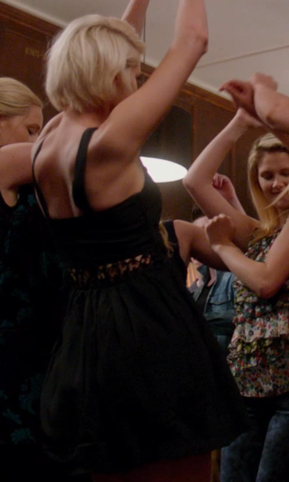 Jessica Simpson Women's Sleeveless Bubble Hem Dress in Vampire Academy