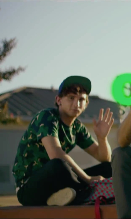 Alex Shaffer with Rvca Commonwealth Snapback in We Are Your Friends