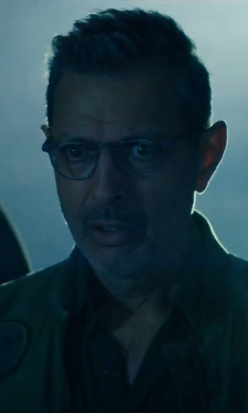 Jeff Goldblum with Persol PO3007V Vintage Celebration Glasses in Independence Day: Resurgence
