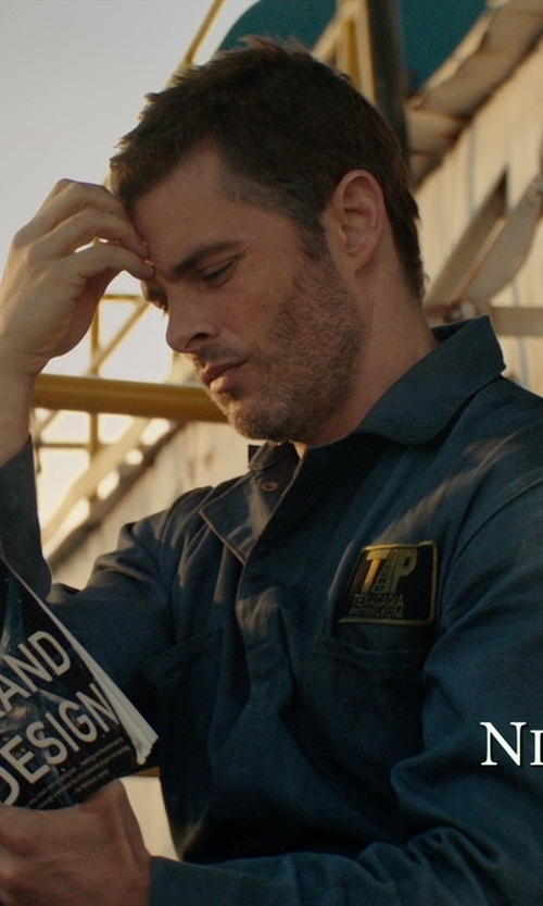James Marsden with Walls Men's Long Sleeve Non-Insulated Mechanic Coverall in The Best of Me