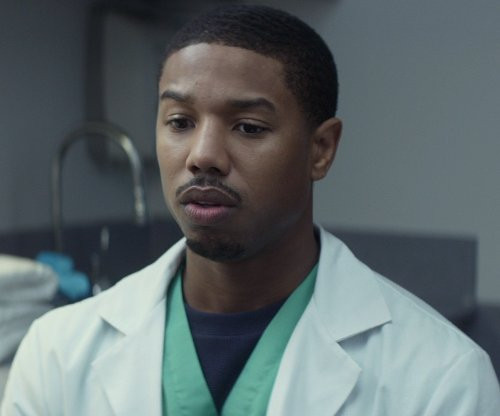 Michael B. Jordan with Our Legacy Mid-Sleeve New Crepe T-Shirt in That Awkward Moment