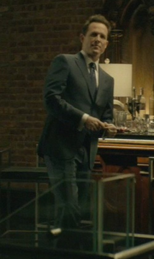 Dean Winters with Ted Baker London Jones Trim Fit Wool Suit in John Wick