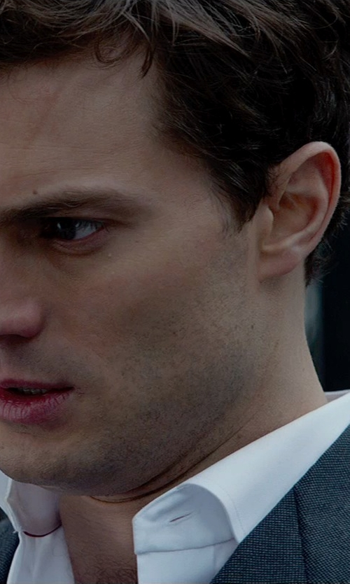 Jamie Dornan with Anto Beverly Hills Custom Made Dress Shirt in Fifty Shades of Grey