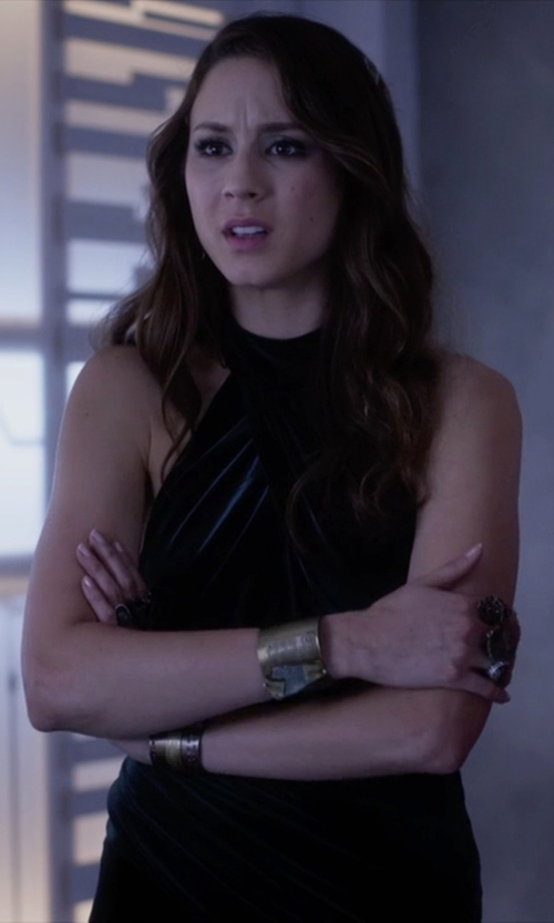 Troian Bellisario with Stephene Fortress Ring in Pretty Little Liars