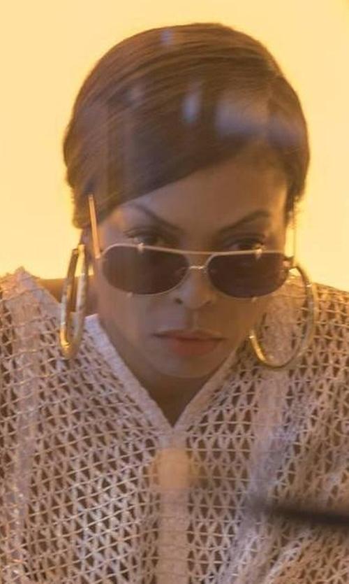 Taraji P. Henson with DITA Talon Sunglasses in Empire
