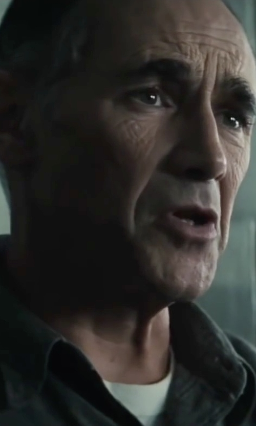 Mark Rylance with C-in2 Men's Crew Neck T Shirt in Bridge of Spies