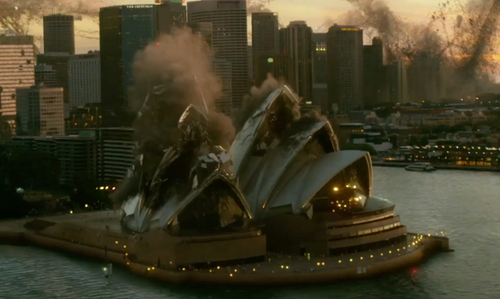 Unknown Actor with Sydney Opera House Sydney, Australia in X-Men: Apocalypse