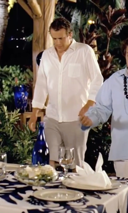 Jason Segel with Carhartt Button Down Shirt in Forgetting Sarah Marshall