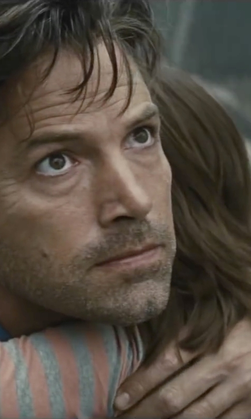Ben Affleck with Gucci Chronograph G-Timeless Black Leather Strap Watch in Batman v Superman: Dawn of Justice