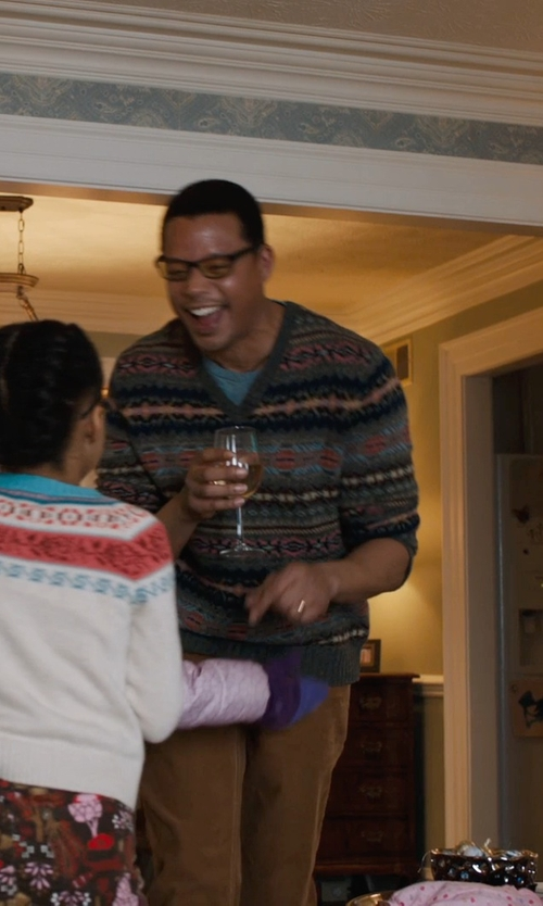 Terrence Howard  with Spiegelau Vino Vino Red Wine Glass in Prisoners
