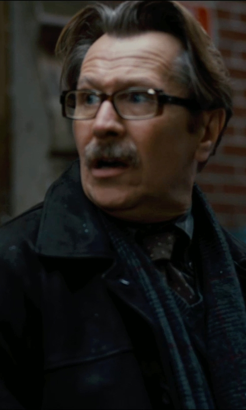 Gary Oldman with Y / Project Felted Parka in The Dark Knight Rises