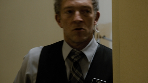 Vincent Cassel with Burberry Beat Check Silk Tie in Jason Bourne
