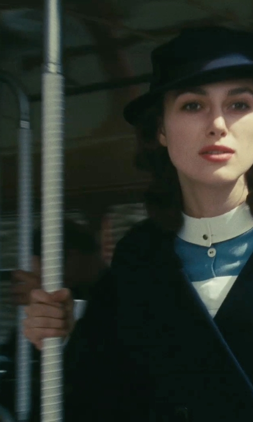 Keira Knightley with Rag & Bone Floppy Brim Wool Fedora Hat in Atonement