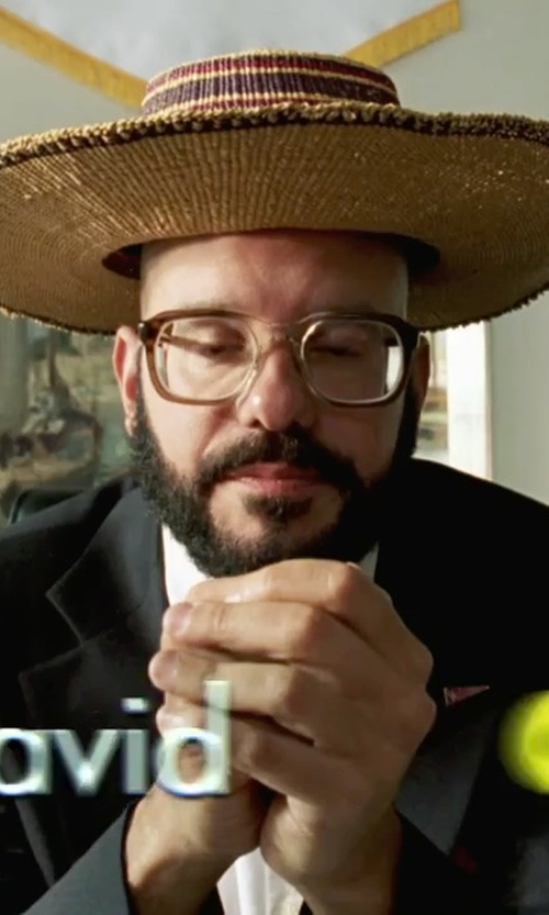 David Cross with Kangol Kross Porkpie Hat in She's The Man