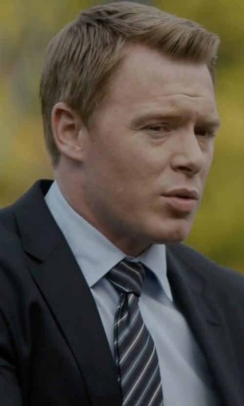 Diego Klattenhoff with Saks Fifth Avenue Collection Regular-Fit Solid Dress Shirt in The Blacklist
