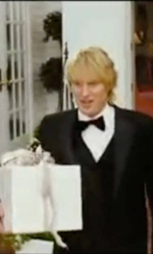 Owen Wilson with Boss Hugo Boss Three-Piece Suit in Wedding Crashers