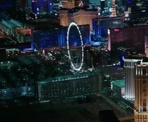 Unknown Actor with High Roller Ferris Wheel Las Vegas, Nevada in Sleepless