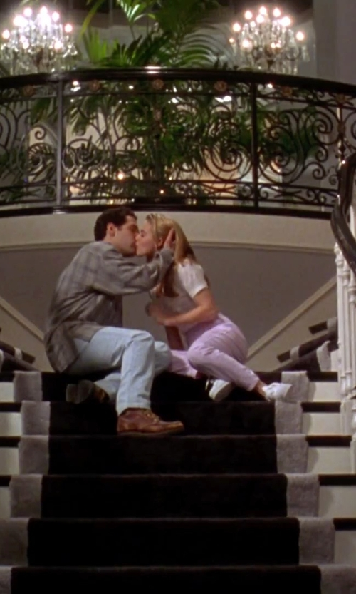 Alicia Silverstone with Kate Spade New York 'Marissa' Shirt in Clueless